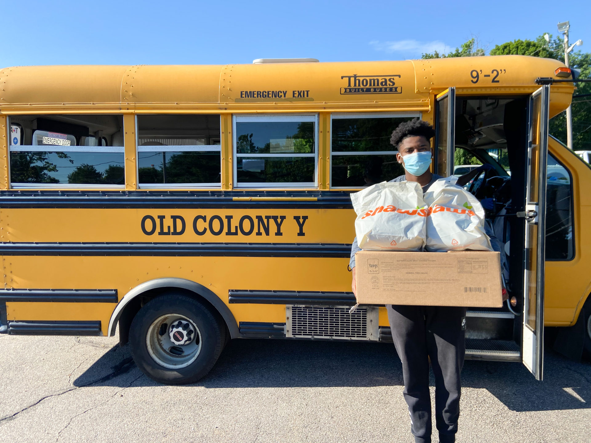 Grantee Old Colony Grocery Distribution Program